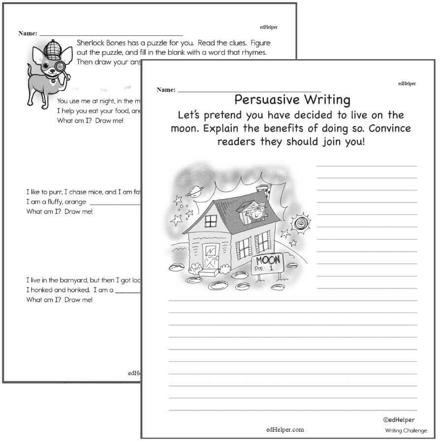 2nd Grade Writing Worksheets
