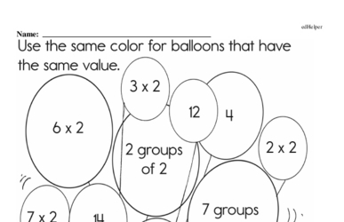 Multiplication and Mental Math<BR>Hybrid Distance Learning or At School Math Practice Workbook<BR><BR>(Chapter #6)