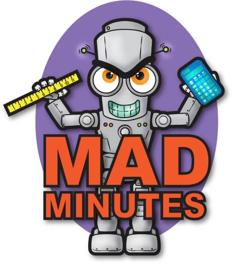 Mad Minute Timed Math Drill Worksheets