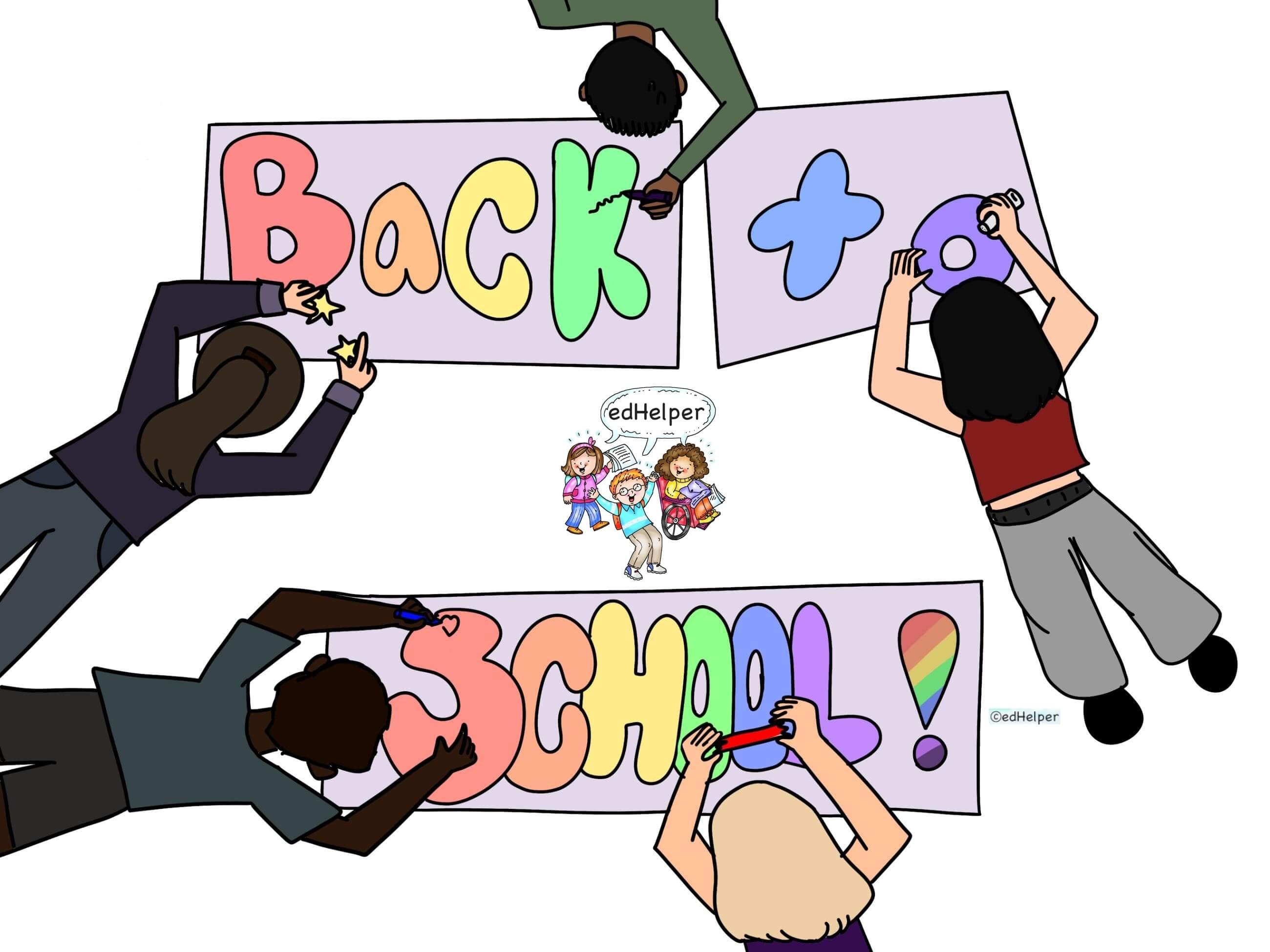 Rest of Back to School Worksheets
