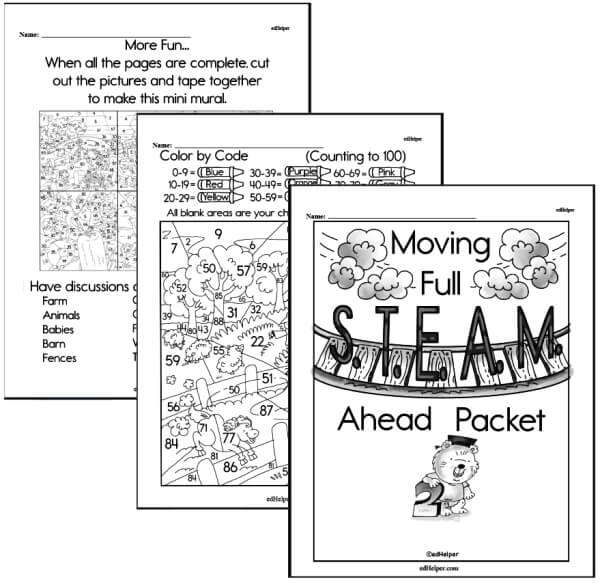 Math and Science for Little Kids Workbook