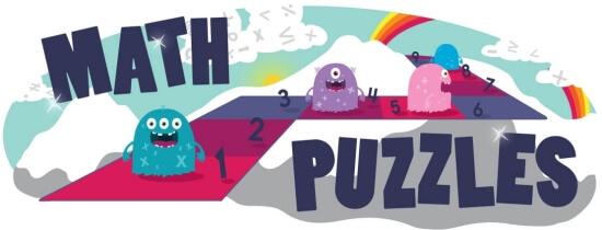 Math Puzzle Workbooks