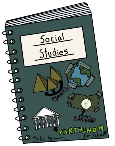 Social Studies Monthly Reading and Lesson Pages for June