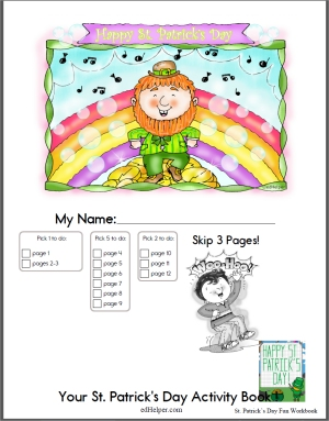 St. Patrick's Day Activity Book
