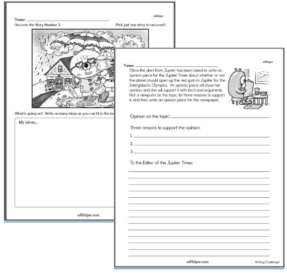 Writing Challenge Workbook